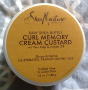 Shea Moisture Raw Shea Butter Curl Memory Cream Custard, 350ml