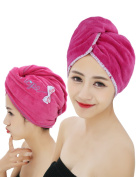 Mesehome Quick Dry Ultra Cheap Price Microfiber hair Drying towel, Turban towel wrap