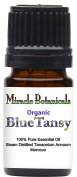 Miracle Botanicals Organic Blue Tansy Essential Oil - 100% Pure Tanacetum Annuum - 5, 10 or 30ml/1oz sizes - Therapeutic Grade - 5ml