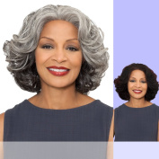 ESTHER (Foxy Silver) - Synthetic Lace Front Wig in F1B30