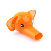 Sangyn Kid's Silicone Cartoon Elephant Faucet Extender