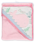 "Kristen Hanah ""Ocean Fun"" Hooded Towel - pink, one size"