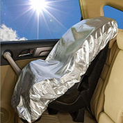 Universal Child Safty Car Seat Sunshade Fits for Most Car Seats