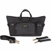 SoYoung Andi 3-in1 Stroller/Tote/Handbag - Switch Out Messenger Tote Strap, Handbag Handle, or Attach to Stroller - Stylish Sleek Adaptible Design