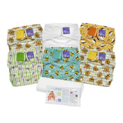 Bambino Mio, Miosolo Cloth Nappy Set, Onesize, Geometric