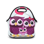 Boys Girls Kids Women Adults Insulated School Travel Outdoor Thermal Waterproof Carrying Lunch Tote Bag Cooler Box Neoprene Lunchbox Container Case