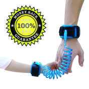 Anti Lost Wrist Link Safety Hook and loop Leash Hand Belt 8+ Feet