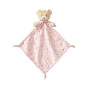 Beginnings by Enesco Plush Baby Bear Lovey Blanket, 41cm , Pink