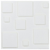 Brick Wall Decor, Inkach 30X30cm PE Foam 3D Wall Stickers Self-adhesive Homen Tile Decor Waterproof Wall Stickers