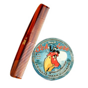Schmiere Red Parrot Pomade Set- Firm Hold Pomade and Comb