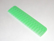 Tupperware Gadgets 12cm Pocket Comb in Neon Green