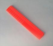 Tupperware 17cm Barber Styling Dresser Hair Comb in Neon Orange