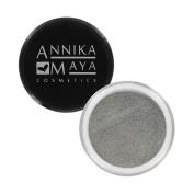Annika Maya Shimmer Pigment Powder - Light Steel