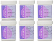 Almay Oil Free Gentle Eye Makeup Remover Pads, 80 Ct (Pack of 6) + FREE Schick Slim Twin ST for Dry Skin