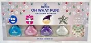 Bonita Holiday Nail Polish & Nail Stickers, 5 pc Set