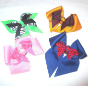 Large Hair Bow Variety, Made in the USA, am4