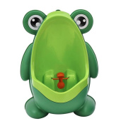 GAMT Boys Toilet Training Potty Urinal Pee Trainer Bathroom Hanging Pee Trainer Green