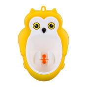 GAMT Lovely Baby Toilet Training Potty Urinal Pee Trainer for Boys Bathroom Hanging Pee Trainer Yellow