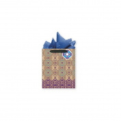 Web Kraft Design Large Gift Bag