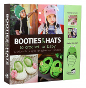 Boxed Gift Set - Booties and Hats to Crochet for Babies