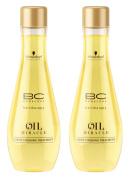 BC Bonacure OIL MIRACLE Light Oil Treatment, 100ml , 2 Count