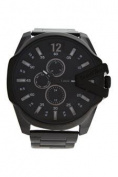 Louis Villiers Lvag8912-14 Black Stainless Steel Bracelet Watch Watch For Men 1 Pc