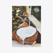 [Secret Nature] Anti-Ageing Facial NATURAL COTTON ESSENCE Mask Sheet Jeju Complex (Coconut