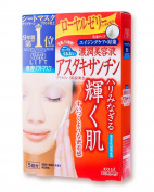 KOSE CLEAR TURN White Mask (Astaxanthin) 5 sheets