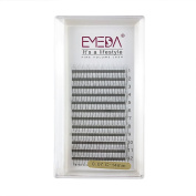 EMEDA 3D W 0.07 C Curl 14MM Volume Cluster Eyelash Extension False Eyelashes