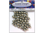 A/D Jingle Bell Value Pack 9mm 65pc Silver