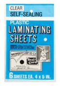 LAMINATING PLASTICSHEETS by SEAL-A-CARD MfrPartNo 64521