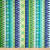 Richloom Indoor/Outdoor Cotrell Lagoon Fabric By The Yard