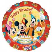 Disney Mickey Friends Happy Birthday Mini Shape Balloon