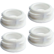 Maymom Baby Bottle Thread Changer; Allow Spectra S1 S2 Pumps' Wide Mouth Flanges to use Medela Bottles, 2G