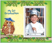 My First Graduation - Owl Back to School Picture Frame Gift