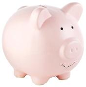 Geelyda Small Cute Ceramic Coin Money Piggy Bank for Kids, Pink