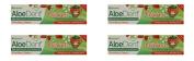(4 PACK) - Aloe Dent Aloe Vera Childrens Toothpaste - Fluoride Free | 50ml | 4 PACK - SUPER SAVER - SAVE MONEY
