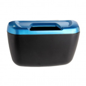VANKER Car Waste Basket Box Hook Adhesive Trash Can Holder Litter Mini Bin Storage Case