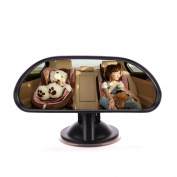 E-Bestar Baby Car Mirror Safety Child Rear View Mirror on Mirror Rear Facing with Sucker for Car Rear View