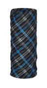 O3 O3MFHA031 Rag Tops Convertible Headwear, Blue Black Plaid