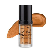 (6 Pack) L.A. Girl Pro Coverage Illuminating Foundation - Warm Beige