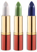 3 x Ikos Thinking Lipstick Pearl Pink Night Pink and Aubergine DL1, DL2, DL3