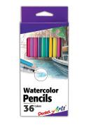 Pentel Arts Watercolour Pencil Set - Assorted Colours, 36-Pack