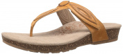 Aetrex Women's Terri Petal Thong Slide Sandal