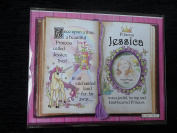 Gift For Jessica Princess Unicorn Mount With Special Verse And Choice Of Photo Frame