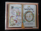 Gift For Isabelle Princess Unicorn Mount With Special Verse And Choice Of Photo Frame