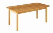 Robin Rectangular Table for the Nursery, 120 x 80 Height 46 cm