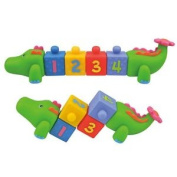 K's Kids Cubic Crocobloco Baby Toy - Activity Fun Learning Counting Development