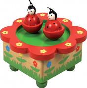 Ulysse Ladybug Music Box (Red)