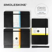 Leak; skin MOLESKINE classical music notebook (wide ruled line, squares, plain fabric, dot squares) soft cover / 13.0x21 .0cm 240p large (black) CLASSIC LARGE SOFT